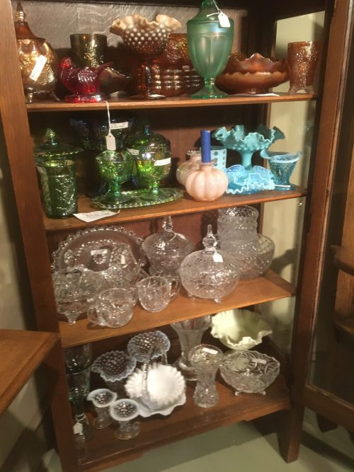 Glass Carnival Glass , Fenton Glass ,Depression Glass , Milk glass , Slag Glass ,Crystal Glass