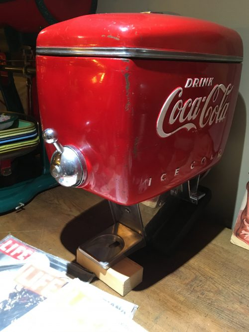 Coca-Cola Soda Fountain Dispenser Deluxe 1940s