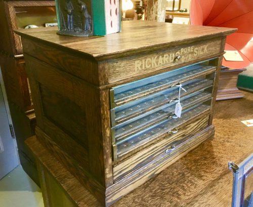 Dye Cabinet in oak ca 1900