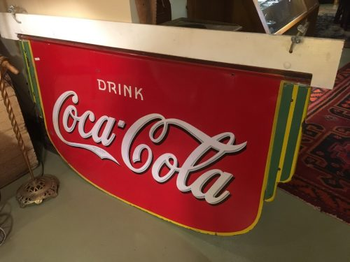 Coke Sign in Art Deco style 1935