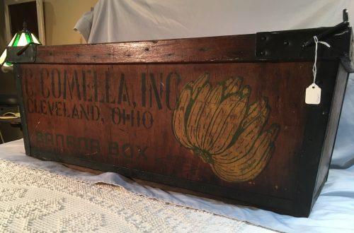Antique Banana Box ca 1890