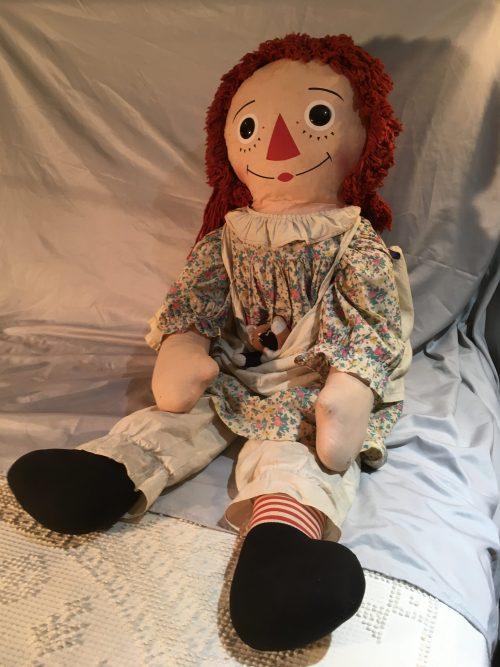 Raggedy Ann Doll Vintage 38