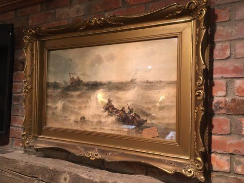 Ship Wreck Lithograph ca.1890