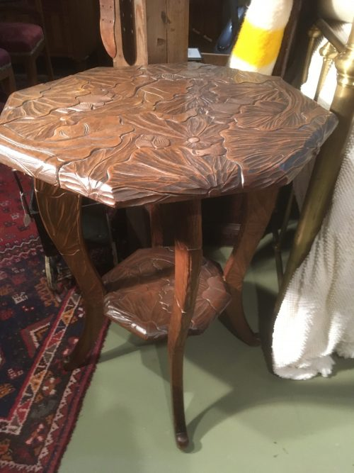 Carved table 23