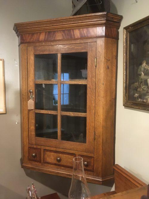 Corner Cupboard Ca. 1870