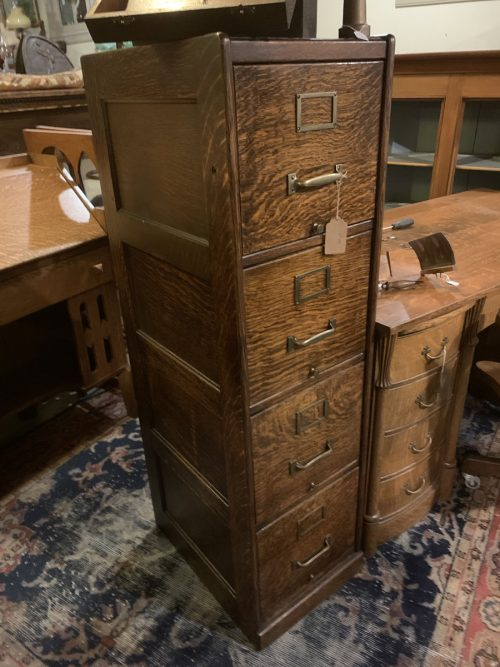 Filing Cabinet 4 drawer Ca.1905.