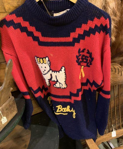 1955 Sweater Wool Knit.
