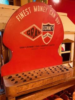 Gray Bonney Tool Display 1940s
