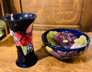 Moorcroft Walter Vase & Bowl 1947-53
